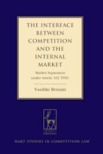 The Interface between Competition and the Internal Market cover