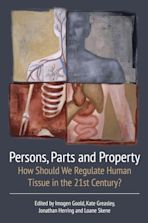 Persons, Parts and Property cover