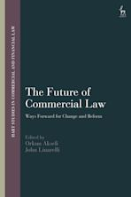 The Future of Commercial Law cover
