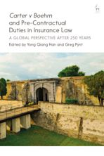 Carter v Boehm and Pre-Contractual Duties in Insurance Law cover