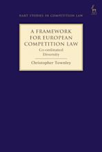 A Framework for European Competition Law cover