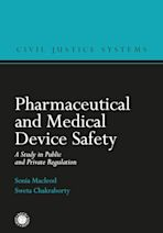 Pharmaceutical and Medical Device Safety cover