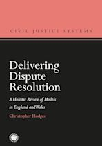 Delivering Dispute Resolution cover