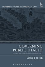 Governing Public Health cover