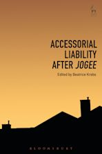 Accessorial Liability after Jogee cover