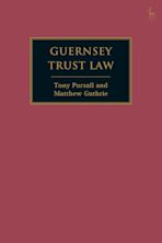 Guernsey Trust Law cover
