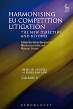 Harmonising EU Competition Litigation cover