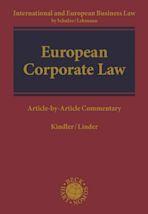 European Corporate Law cover