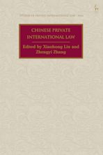 Chinese Private International Law cover