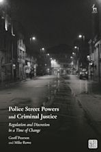 Police Street Powers and Criminal Justice cover