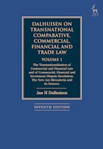 Dalhuisen on Transnational Comparative, Commercial, Financial and Trade Law Volume 1 cover