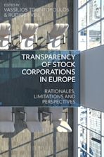 Transparency of Stock Corporations in Europe cover