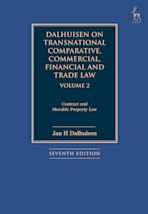 Dalhuisen on Transnational Comparative, Commercial, Financial and Trade Law Volume 2 cover