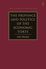 The Province and Politics of the Economic Torts cover