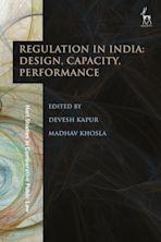Regulation in India: Design, Capacity, Performance cover