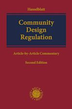 Community Design Regulation cover