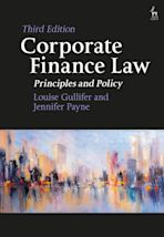 Corporate Finance Law cover