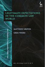Legitimate Expectations in the Common Law World cover