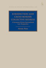 Jurisdiction and Cross-Border Collective Redress cover