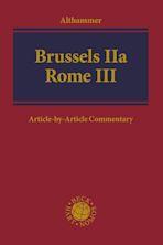 Brussels IIa - Rome III cover