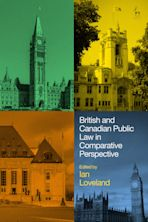 British and Canadian Public Law in Comparative Perspective cover