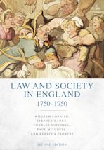 Law and Society in England 1750-1950 cover