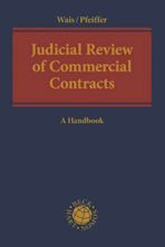 Judicial Review of Commercial Contracts cover