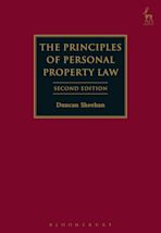 The Principles of Personal Property Law cover