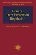 General Data Protection Regulation cover