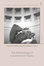 The Methodology of Constitutional Theory cover