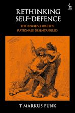 Rethinking Self-Defence cover