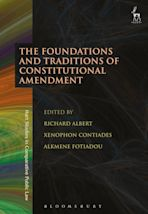 The Foundations and Traditions of Constitutional Amendment cover
