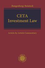 CETA Investment Law cover