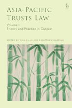 Asia-Pacific Trusts Law, Volume 1 cover