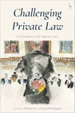 Challenging Private Law cover