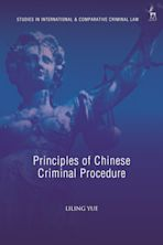 Principles of Chinese Criminal Procedure cover