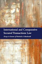 International and Comparative Secured Transactions Law cover