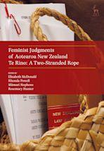 Feminist Judgments of Aotearoa New Zealand cover