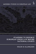 Standing to Enforce European Union Law before National Courts cover