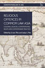 Religious Offences in Common Law Asia cover