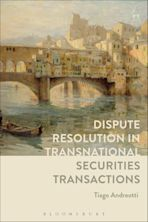 Dispute Resolution in Transnational Securities Transactions cover