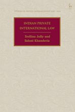 Indian Private International Law cover