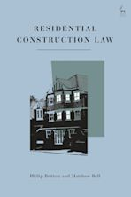 Residential Construction Law cover