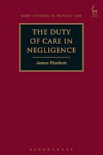 The Duty of Care in Negligence cover