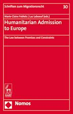 Humanitarian Admission to Europe cover