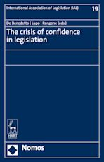 The Crisis of Confidence in Legislation cover