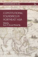 Constitutional Foundings in Northeast Asia cover
