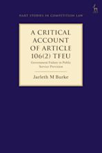 A Critical Account of Article 106(2) TFEU cover