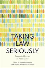 Taking Law Seriously cover