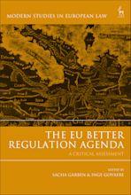 The EU Better Regulation Agenda cover